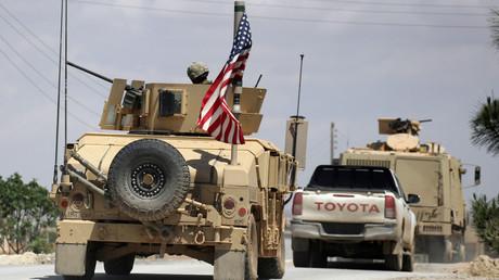 Véhicules de l'armée américaine dans le nord de la Syrie, photo ©Aboud Hamam/Reuters