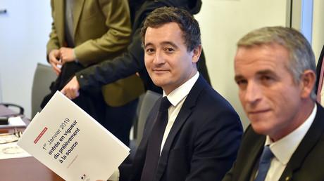 Gérald Darmanin, à Toulouse le 13 novembre pour présenter la réforme du prélèvement de l'impôt à la source