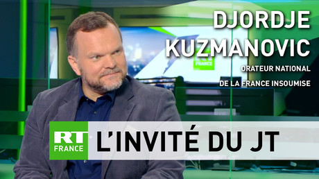 Djordje Kuzmanovic était l'invité de RT France le 012 juillet