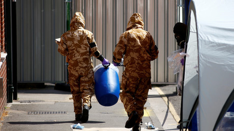 Royaume-Uni : la police affirme avoir trouvé une «petite bouteille» contenant du Novitchok