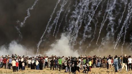 100 jours de la «Marche du retour» : un adolescent tué et des dizaines de blessés à Gaza (IMAGES)