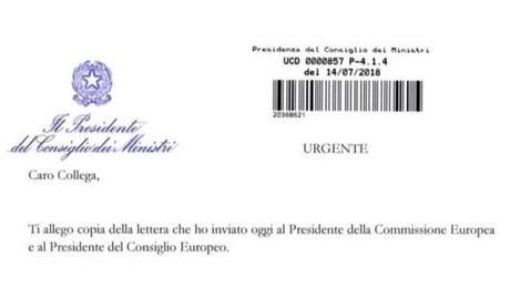 Migrants : Conte dévoile sa lettre adressée à Juncker, à Tusk et aux chefs d'Etat européens