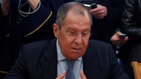 Sergueï Lavrov, photo ©Sergei Karpukhin/Reuters