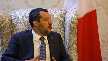 Matteo Salvini en Libye 25 juin 2018 (image d'illustration).