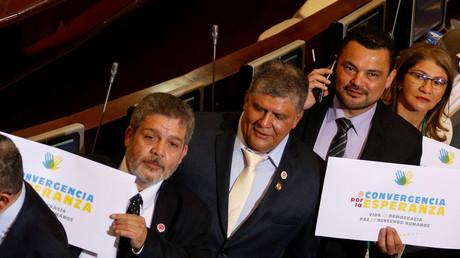 Les ex-guérilleros FARC font leur entrée au Parlement colombien pour la première fois