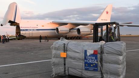 Paris et Moscou se lancent dans une opération humanitaire conjointe en Syrie