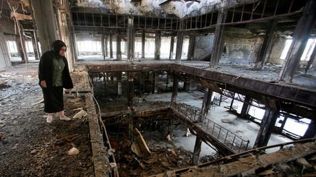 Mossoul, une ville qui est toujours en ruine