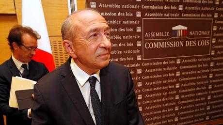 Le ministre de l'Intérieur Gérard Collomb le 23 juillet 2018 à Paris (image illustration).