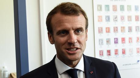 Image d'illustration : Emmanuel Macron, le 19 juillet 2018