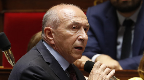 Gérard Collomb à l'Assemblée nationale (photo d'illustration, prise le 13 juin 2018)