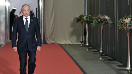 «Guerre commerciale» américaine, partenariats : Vladimir Poutine s'exprime au sommet des Brics