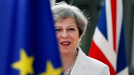 Le chef du gouvernement britannique Theresa May