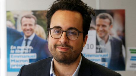 Mounir Mahjoubi en avril 2017, photo ©Charles Platiau/Reuters