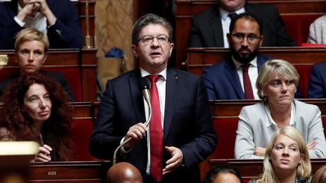 «Vous préférez des bandits de rencontre» : Mélenchon charge Benalla et Macron à l'Assemblée