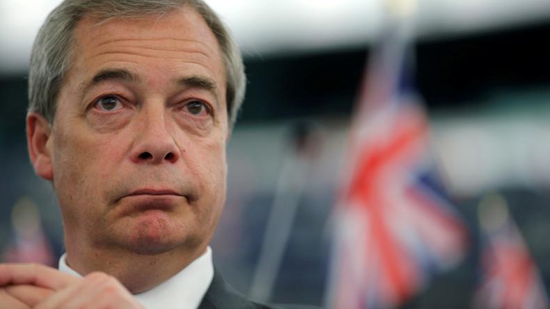 Nigel Farage est de retour pour un «vrai Brexit» et veut «donner une leçon» à la classe politique