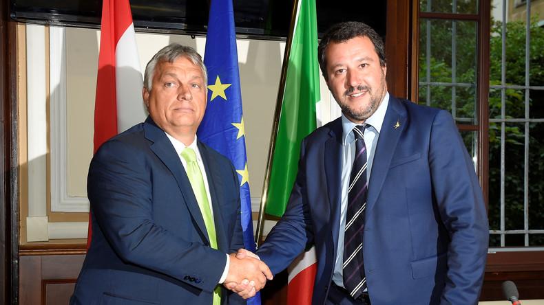 Viktor Orban désigne Emmanuel Macron comme son principal adversaire en Europe