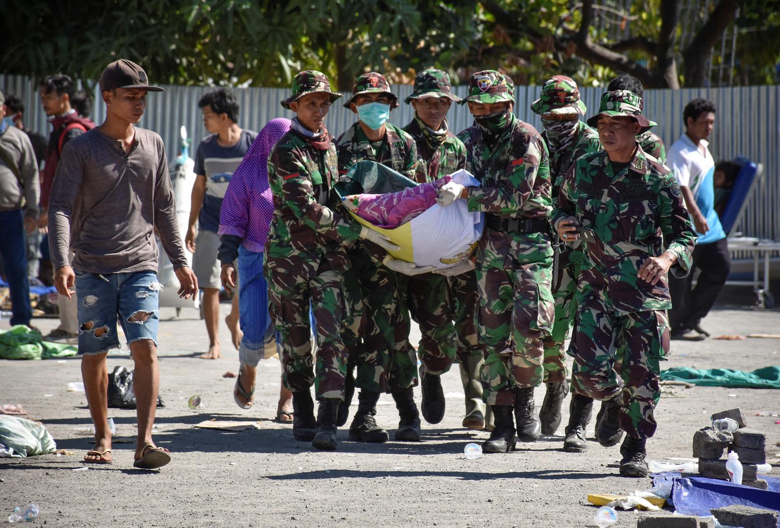 Au moins 91 morts après un séisme de magnitude 6,9 en Indonésie