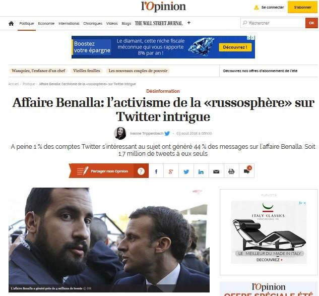 Qui est UE DisinfoLab, à l'origine de l'étude sur le gonflage «russophile» de l'affaire Benalla ?
