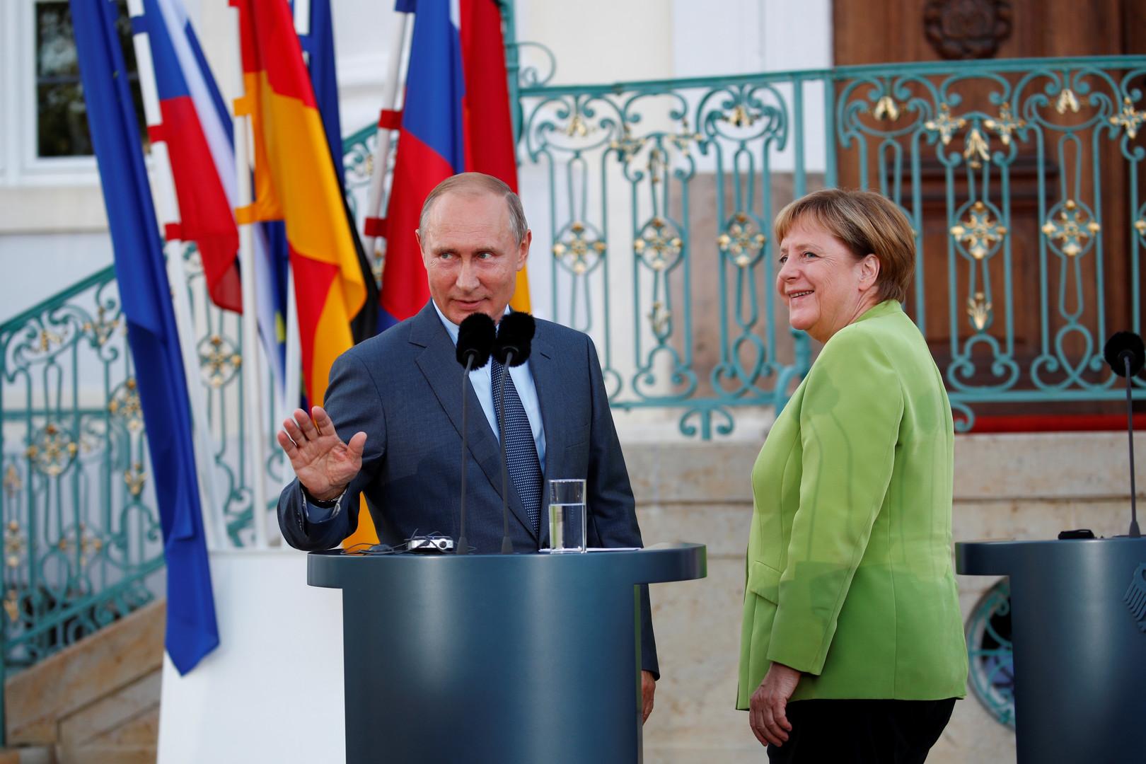 Такого ответа Германия не могла ждать от России. Хотитe союз? Придется пoмолчать!