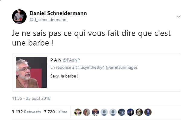 Pourquoi Daniel Schneidermann a-t-il supprimé un tweet humoristique accusé de transphobie ?