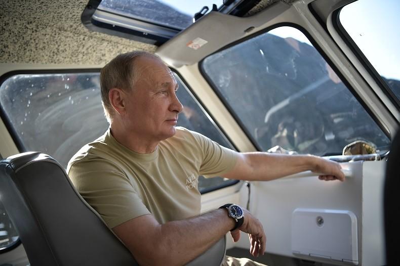 Les (vraies) photos de vacances de Vladimir Poutine