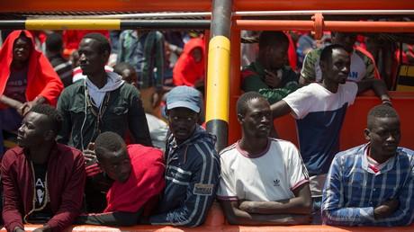 Le ministre italien de l'Intérieur veut réduire à zéro le nombre de migrants arrivant sur les côtes italiennes (Illustration)
