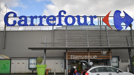 Un supermarché Carrefour à Nantes (image d'illustration).