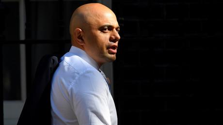 Le ministre de l'Intérieur britannique Sajid Javid