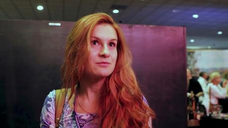 Maria Boutina, ici à Las Vegas en 2015, capture d'écran réseaux sociaux fournie par Reuters