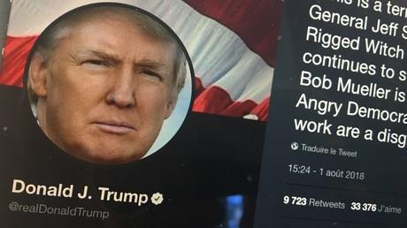 Trump fustige le procureur spécial Mueller et «son sale boulot» dans l'enquête russe