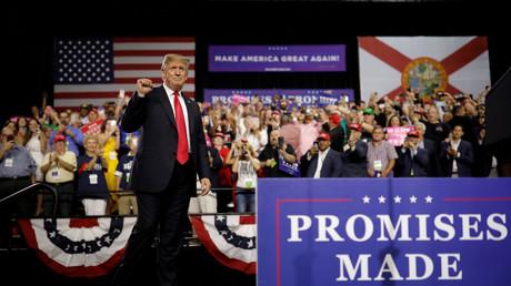 Donald Trump à Tampa en Floride, le 1er août