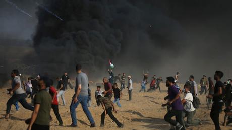 Grande marche du retour : deux morts et plus de 200 blessés à Gaza