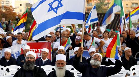 Tel Aviv : des milliers de personnes manifestent contre la loi sur l'«Etat-nation juif» (IMAGES)