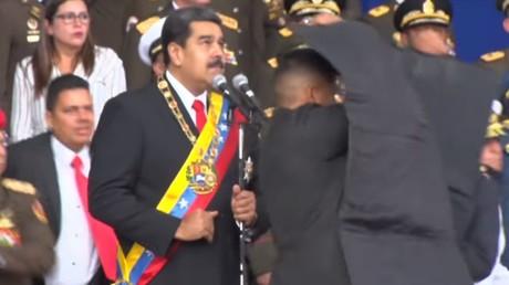«Aujourd'hui on a essayé de m'assassiner» : Nicolas Maduro ciblé par des drones explosifs