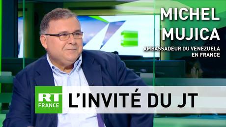 Michel Mujica, ambassadeur du Venezuela en France