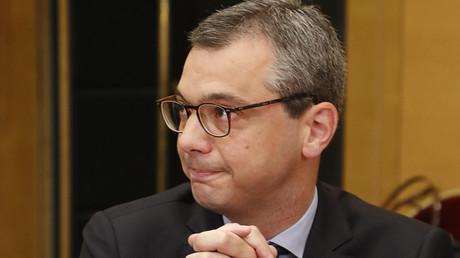 Alexis Kohler lors de la Commission d'enquête du Sénat le 26 juillet 2018 (Image d'illustration).