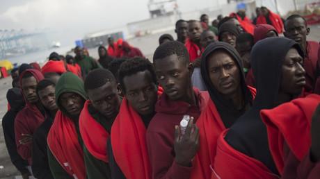 Arrivée de migrants au sud de l'Espagne, près des côtes marocaines (Image d'illustration).