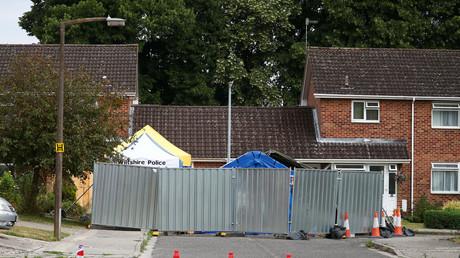 La maison de l'ex-agent secret russe Alexeï Skripal à Salisbury