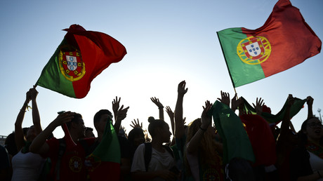 Supporters portugais pendant l'Euro 2016. (Image d'illustration)