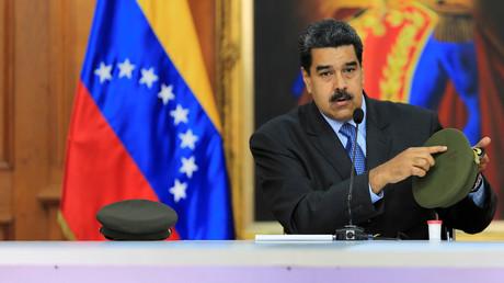 Le président du Venezuela Nicolas Maduro.