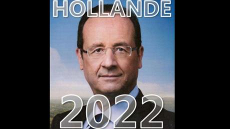Hollande le retour ? De mystérieux tracts «Hollande 2022» font leur apparition