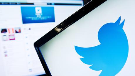 Le logo du site Twitter sur un écran d'ordinateur (Image d'illustration.)