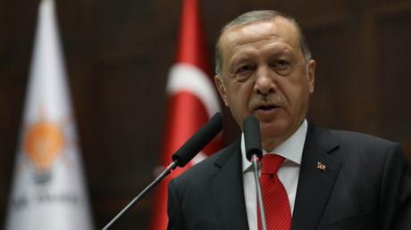 Recep Tayyip Erdogan, le 7 juillet 2017 à Ankara (image d'illustration) .
