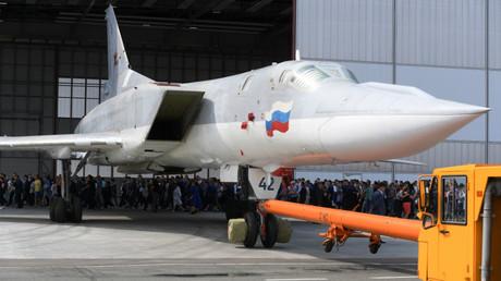 Le Tu-22M3M a été présenté à Kazan le 16 août 2018.