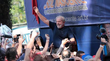 L'ONU demande au Brésil de laisser Lula se présenter à la présidentielle depuis sa prison
