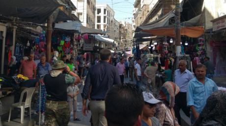 Photo du souk du vieil Alep (Image d'illustration.)