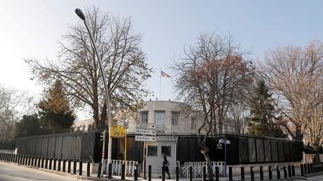 L'ambassade américaine à Ankara en Turquie, le 20 décembre 2016 (image d'illustration).