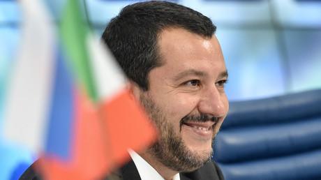 Matteo Salvini le 16 juillet 2018 à Moscou (image d'illustration).