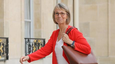 Françoise Nyssen, ministre de la Culture, à l'entrée du Palais de l'Elysée, le 31 mai 2018 (image d'illustration).