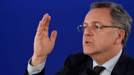 Européennes : un choix entre l'UE de Macron et Merkel et celle de Salvini et Orban, selon Ferrand